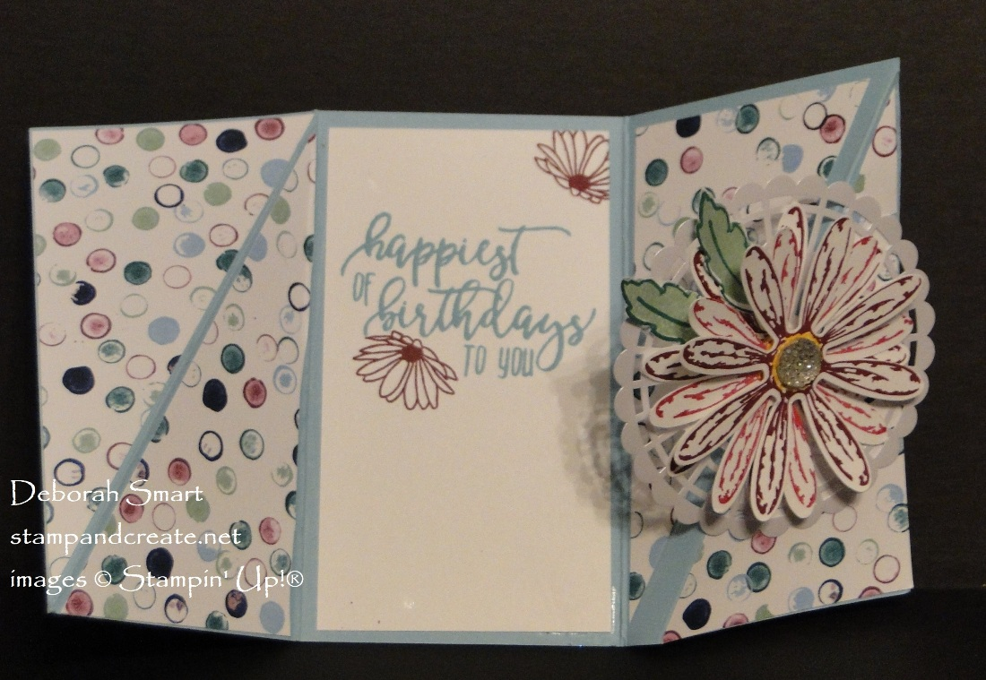 Paper Craft Crew Fancy Fold Challenge Stamp And Create