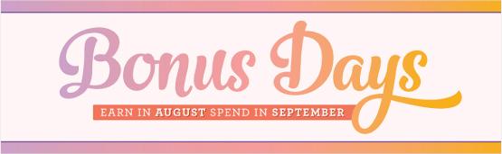 Get Your bonus Days Coupon Codes!