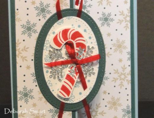Candy Cane Season Z Fold Card