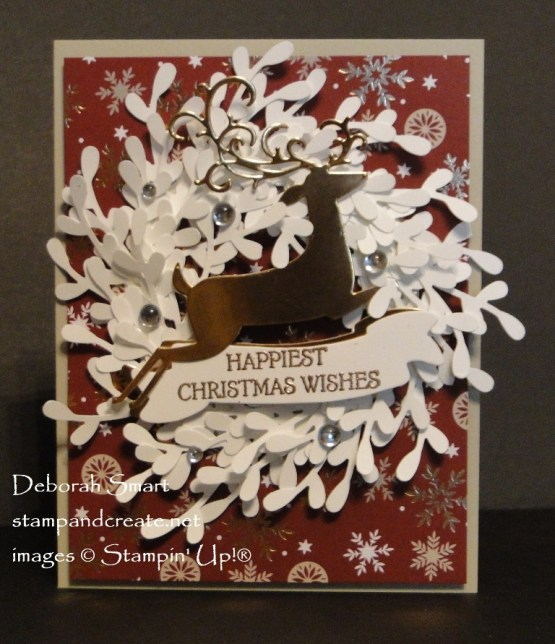 Dashing Deer Wreath