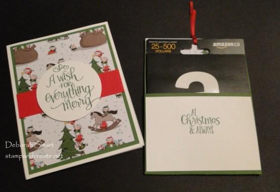 Full Sized Gift Card Holders
