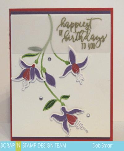 Color Layering Fuchsia