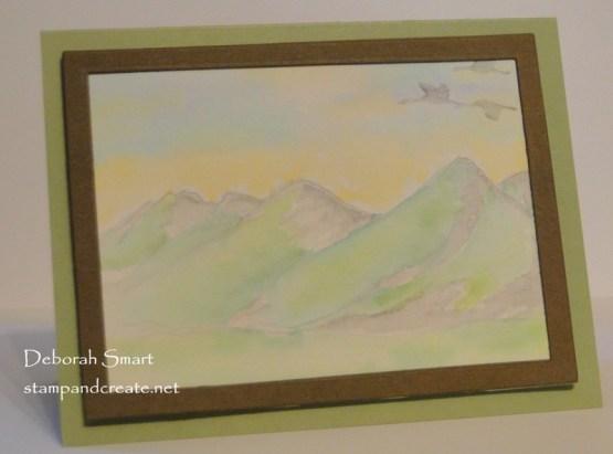 Soft Watercolour Scene