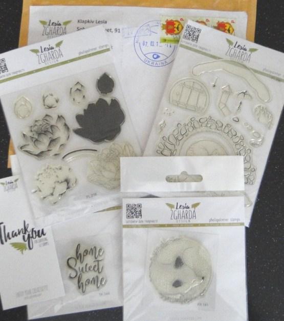 Lesia Zgharda Stamps
