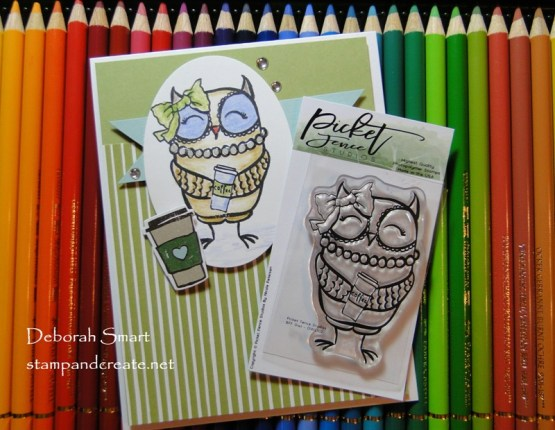 Picket Fence Studios BFF Owl Stamp
