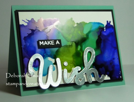 Quick and Easy Alcohol Ink Cards