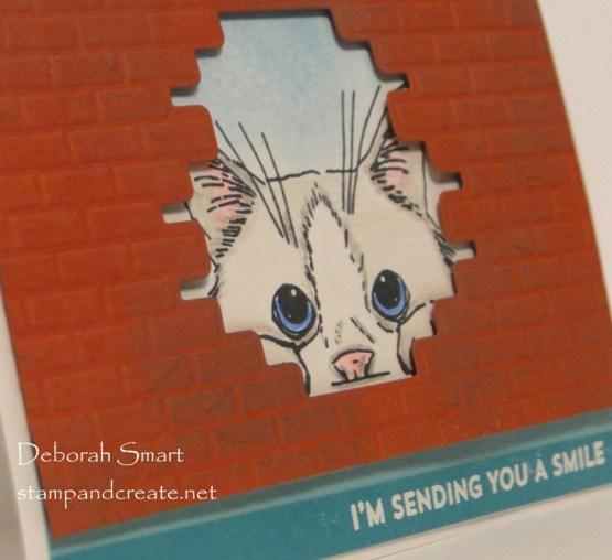 Peekaboo Card for Freshly Made Sketches