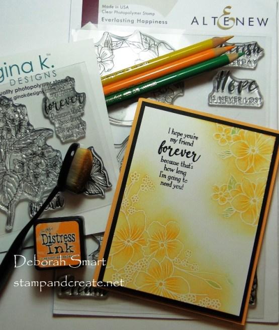 Ink Blending with Polychromos Pencil Details