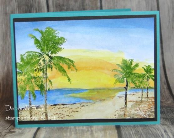 Paradise in Watercolour Paints