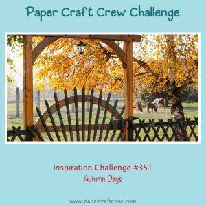 Autumn Days Inspiration Challenge
