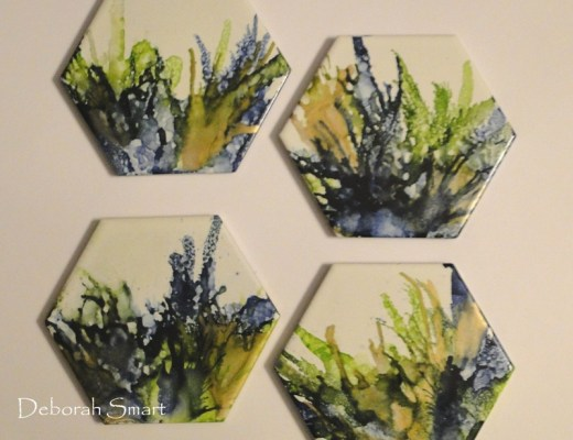 Abstract Alcohol Ink Art