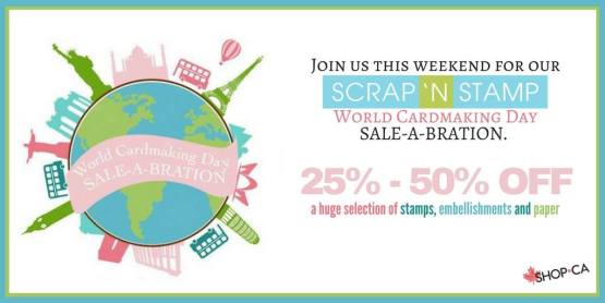 World Cardmaking Day sale