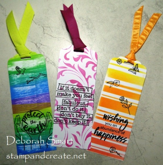 Fun and Fast Bookmarks