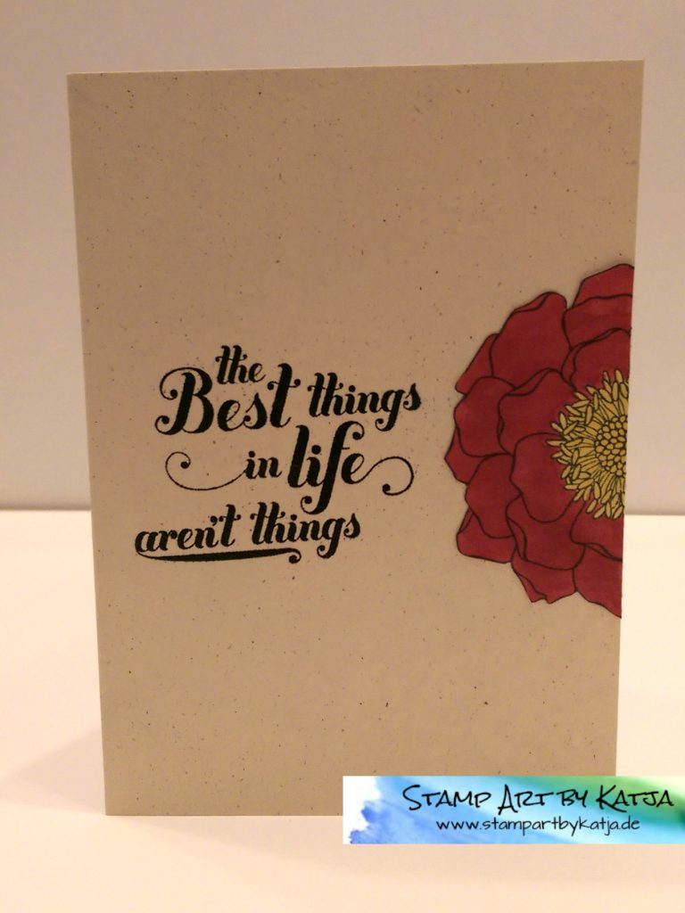 Stampin' Up! Blended Bloom - Feel Goods - Best Things in Life