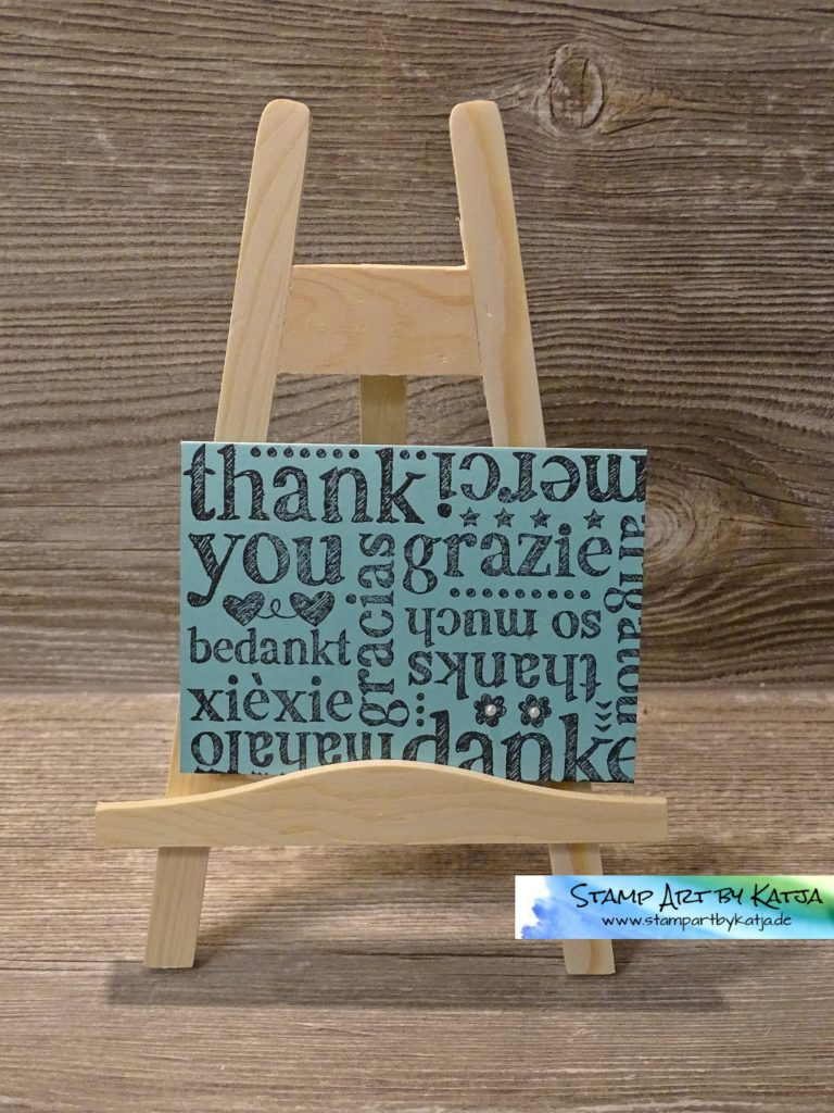 Stampin' Up! A World of Thanks