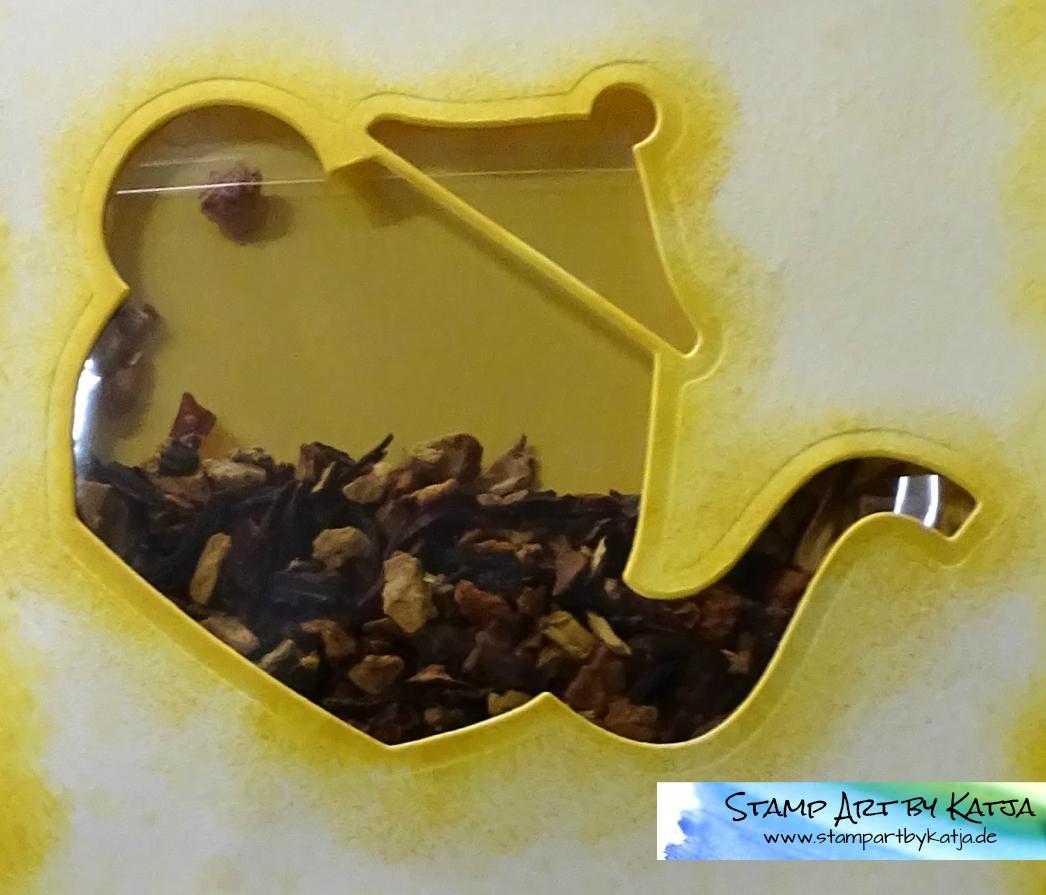 Schüttelkarte nicht nur für Teeliebhaber
