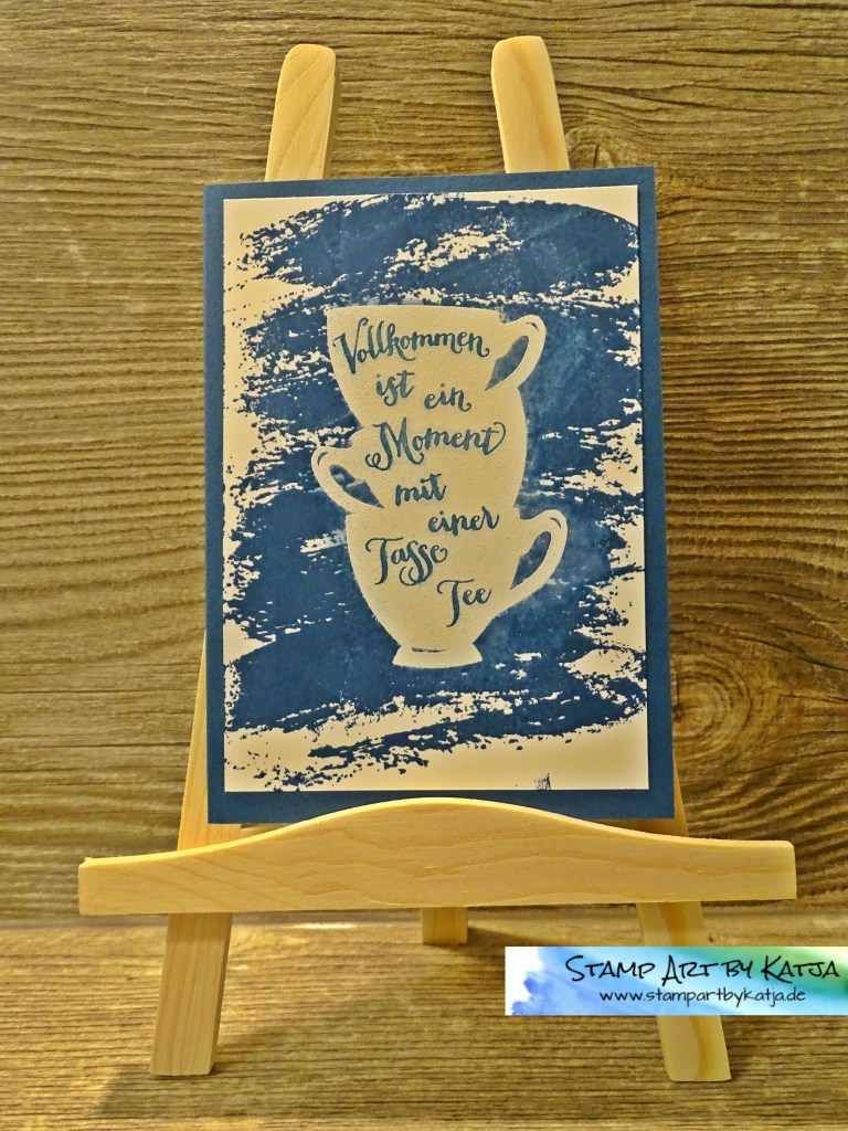 Stampin' Up! Volkommene Momente In Color_Jeansblau