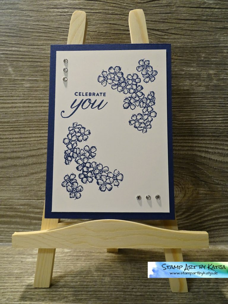 Stampin' Up! Birthday Blossoms