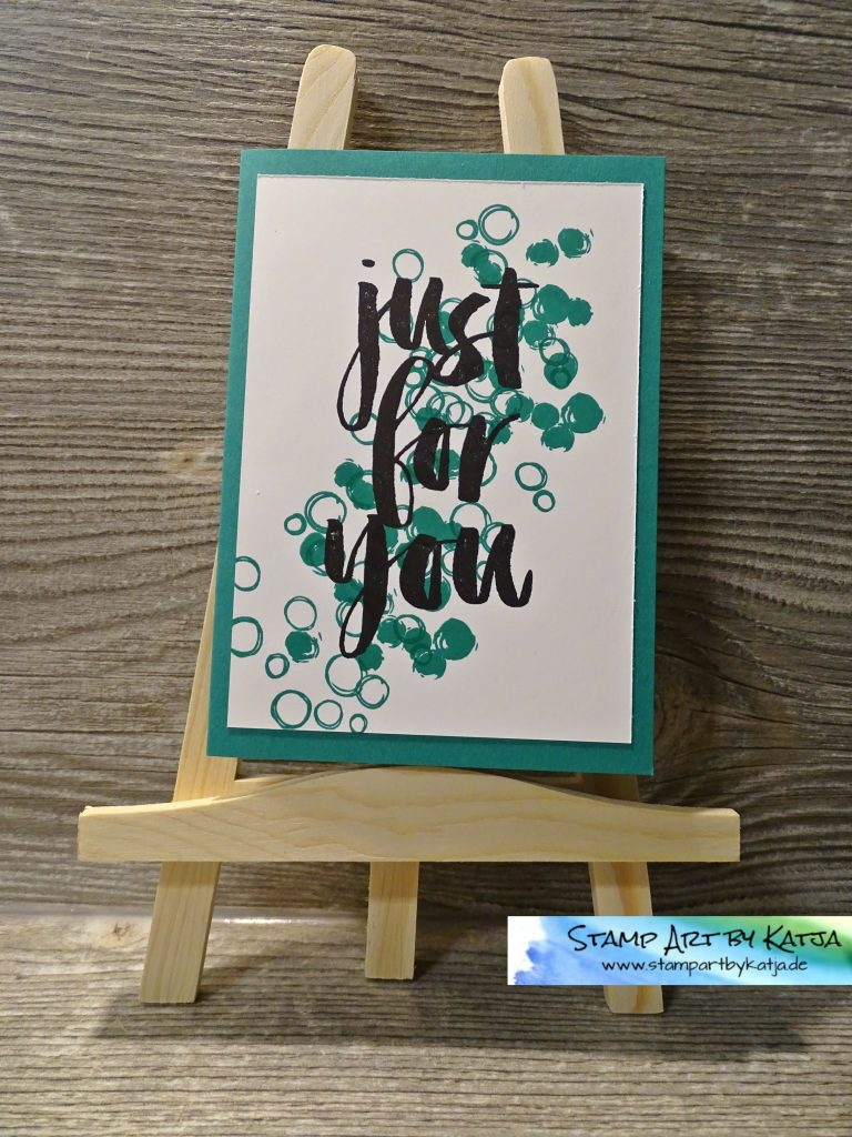 Stampin' Up! Botanicals for You, Playful Backgrounds