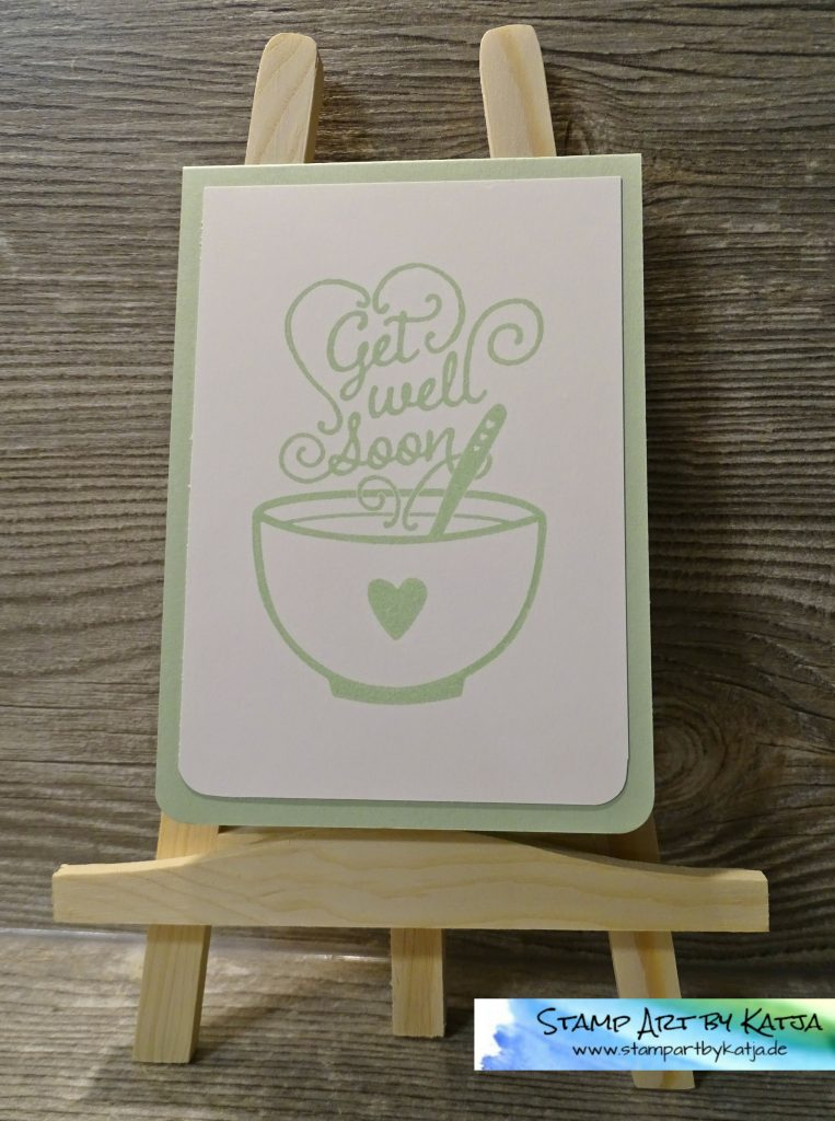 Stampin' Up! Get Well Soup - Pistazie