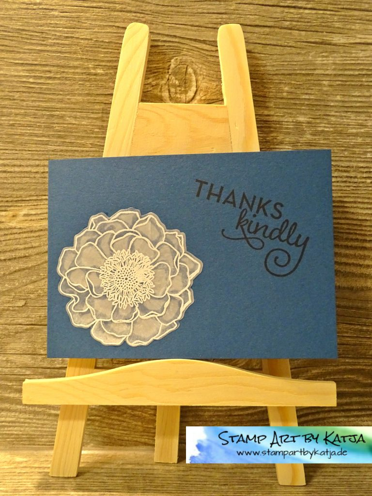 Stampin' Up! Blended Bloom, One Big Meaning