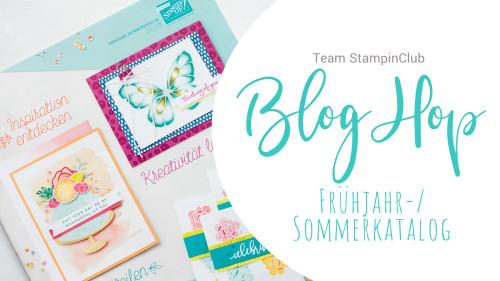 Blog-Hop – Frühjahr-/Sommerkatalog