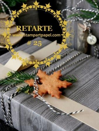 RETARTE 25 EMPAQUES DE REGALOS