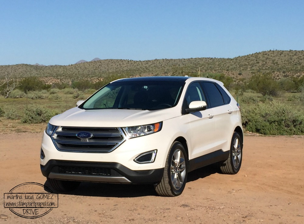 FORD EDGE 2015 EN LOS DESIERTOS DE ARIZONA