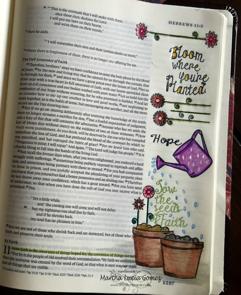 CRECIENDO EN LA FE O GROW WITH FAITH