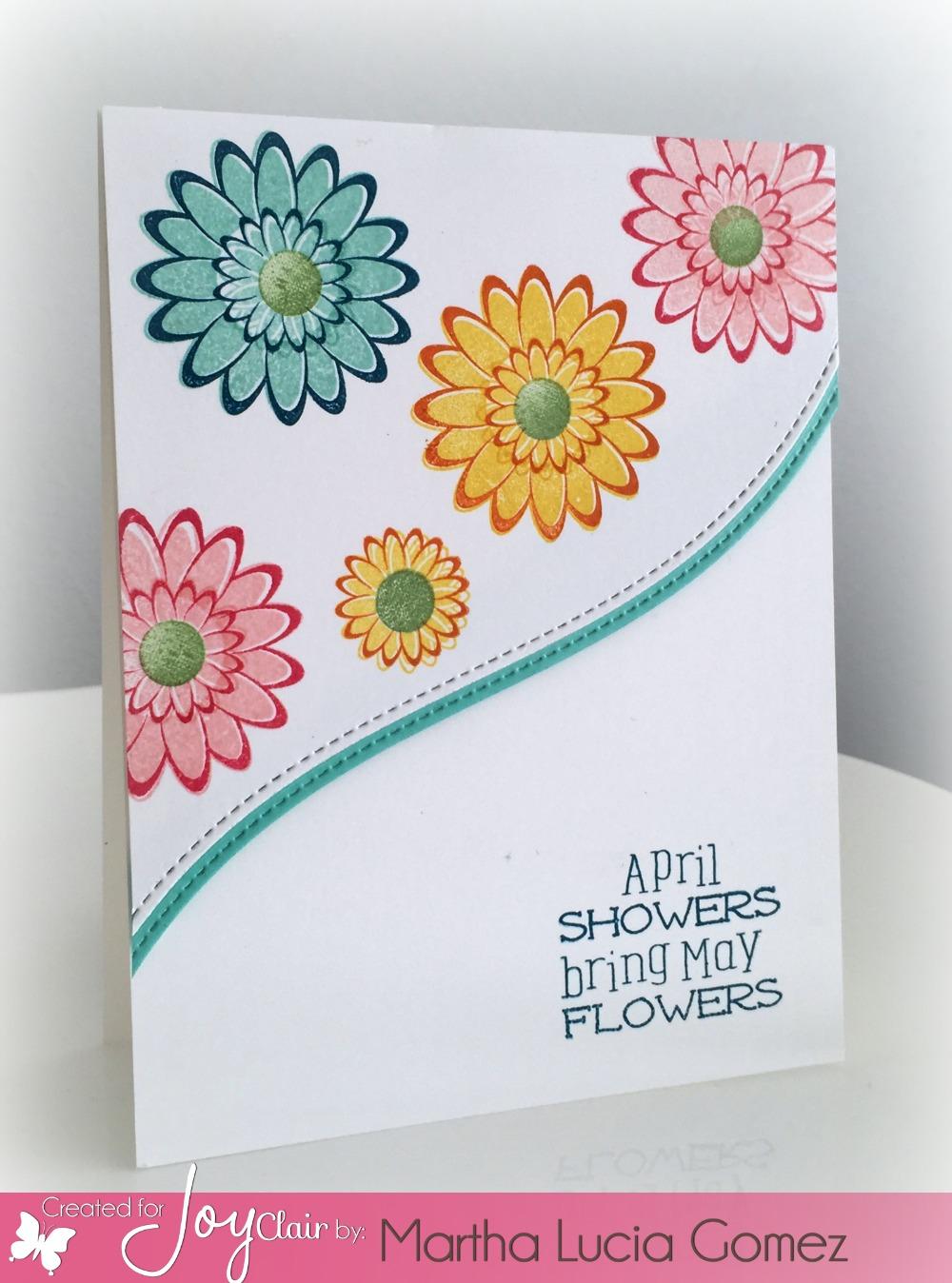 SPRING FLOWERS CON DIE CUTS