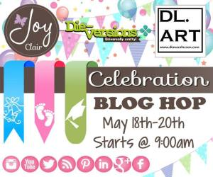 JOY CLAIR, DIEVERSIONS AND DL ART THE BEST BLOG HOP