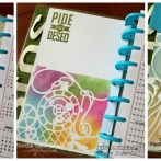 STENCILS IN MY PLANNER PAGES