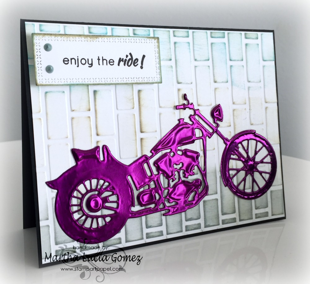 DIE CUT WITH METAL CARD