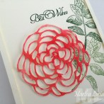 ROSE BLOSSOM WATERCOLOR CARD