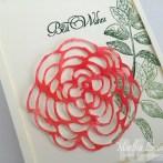 ROSE BLOSSOM WATERCOLOR CARD