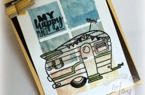 HAPPY CAMPER BY JOY CLAIR STAMPS