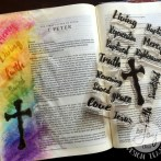 BORN AGAIN BIBLE JOURNAL WITH JOY CLAIR