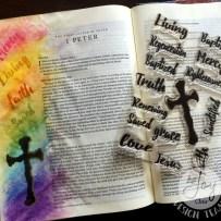 BORN AGAIN BIBLE JOURNAL WITH JOY CLAIR