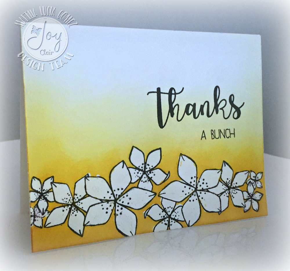 HELLO SENTIMENTS JOY CLAIR STAMP SET