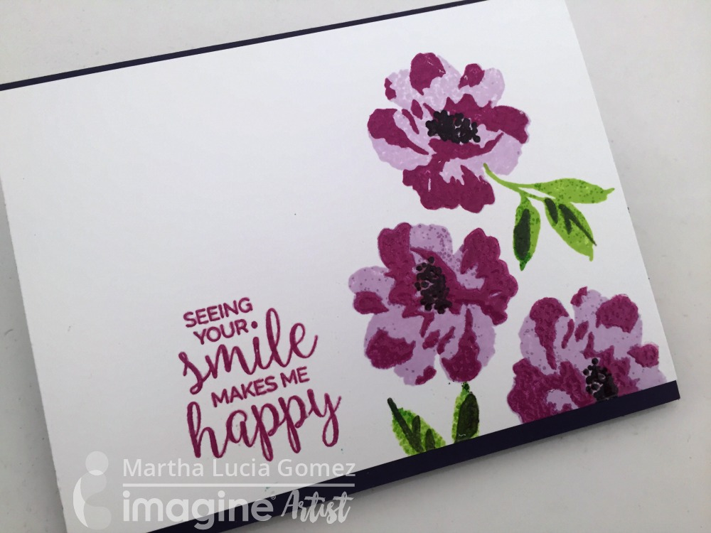 PARTIAL EMBOSSING IN MAGENTA COLOR