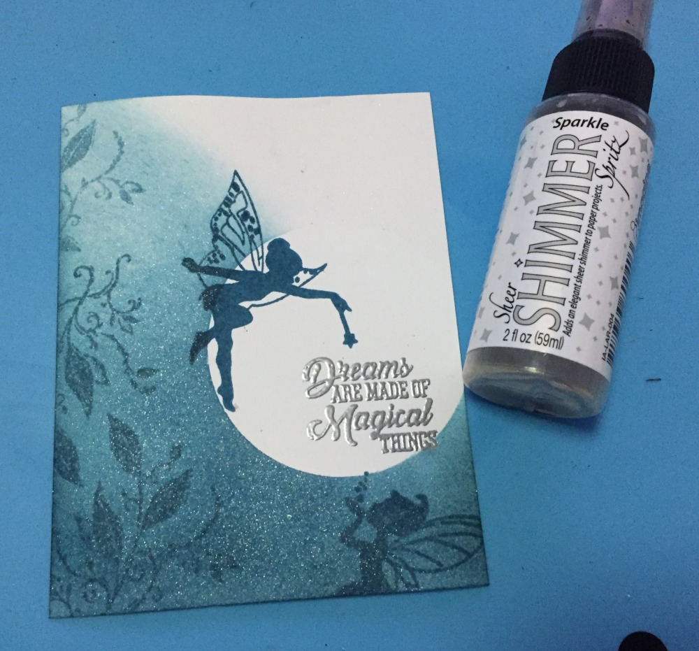 Teal Zeal Monochromatic Card