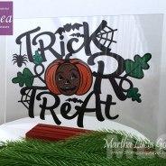 Trick or Tread Halloween Decoration
