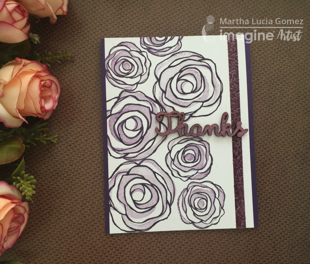 Ink Blossom with Memento Luxe