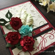 Happy New Year Card – Secret Garden