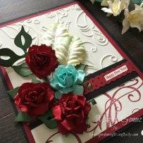 Happy New Year Card – Secret Garden