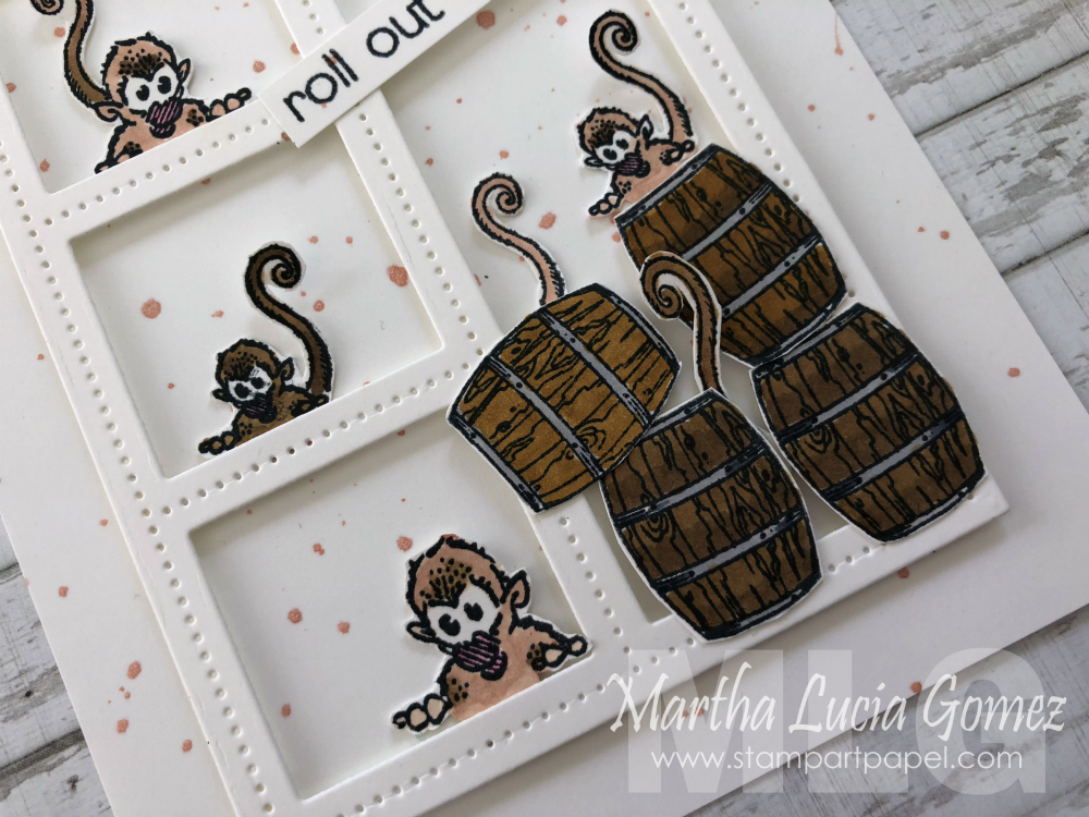 Monkey Business Card - stampartpapel.com