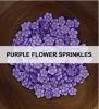 Purple Flower Sprinkles