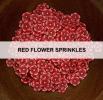 Red Flower Sprinkles