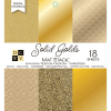 Solid Golds Mat Stack Paper Pad