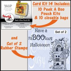 Halloween Card Kits from Crackerbox
